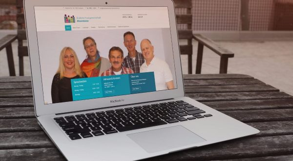 Website für Gemeinschafts-Praxis / Ärztehaus