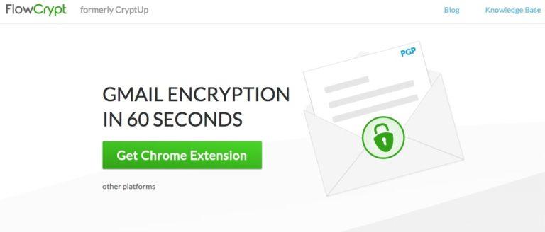 FlowCrypt Website