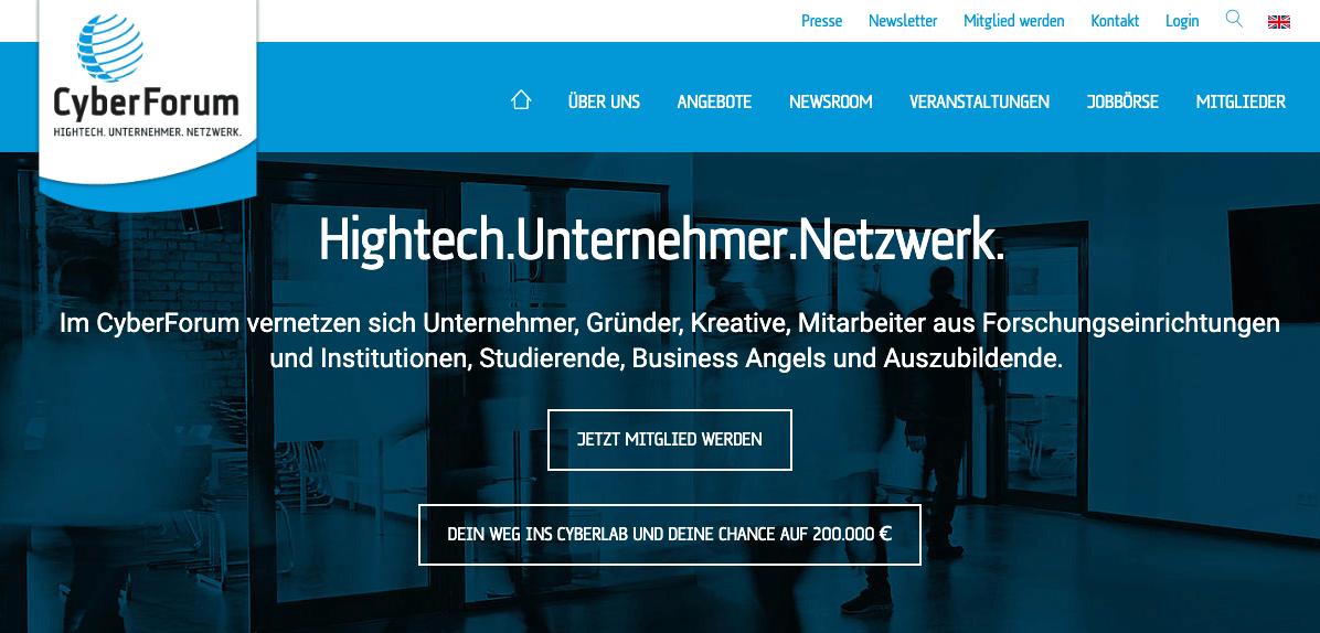Meminto zieht ins CyberForum nach Karlsruhe ein