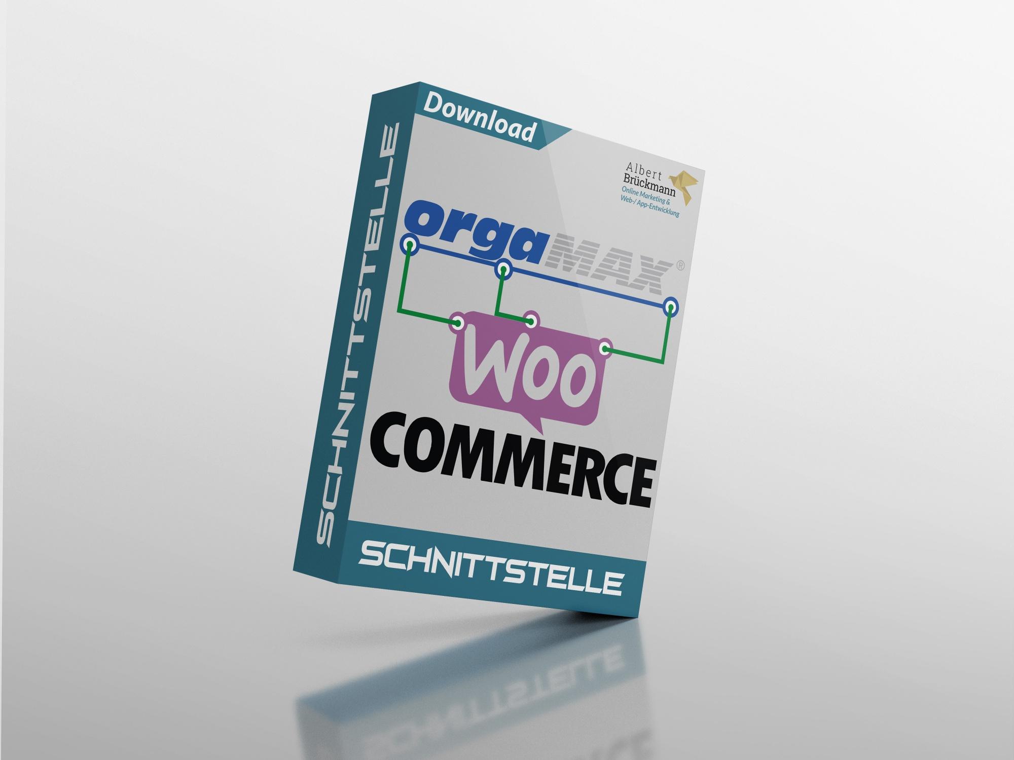 WooCommerce orgaMAX Schnittstelle