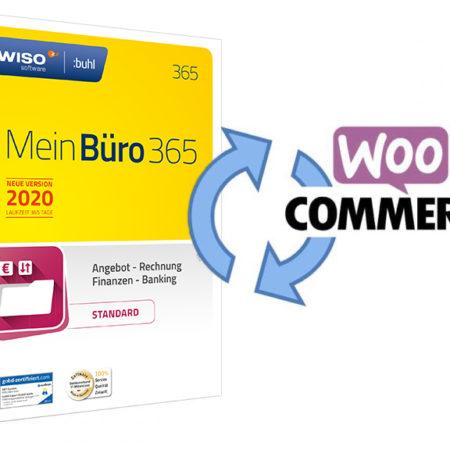 WooCommerce WISO Mein Büro API / Schnittstelle