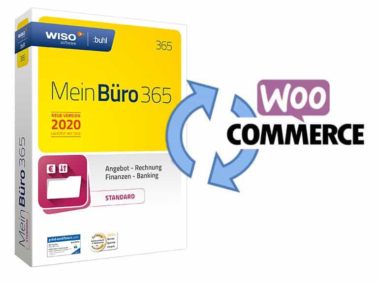 Artikelsynchronisation Woocommerce -> WISO MeinBüro bzw. orgaMAX