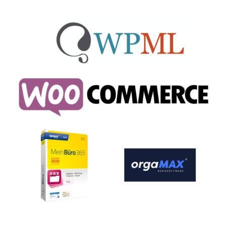 WooCommerce API WPML Add-on (für orgaMAX und MeinBüro)